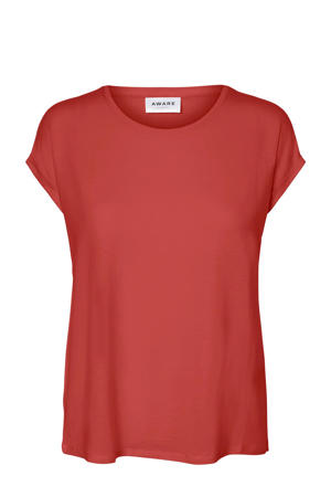 AWARE by T-shirt rood