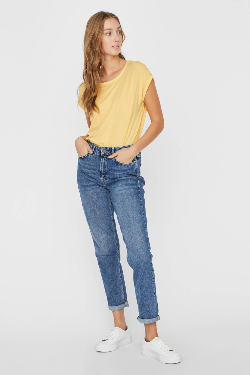 AWARE by VERO MODA T-shirt geel, Geel
