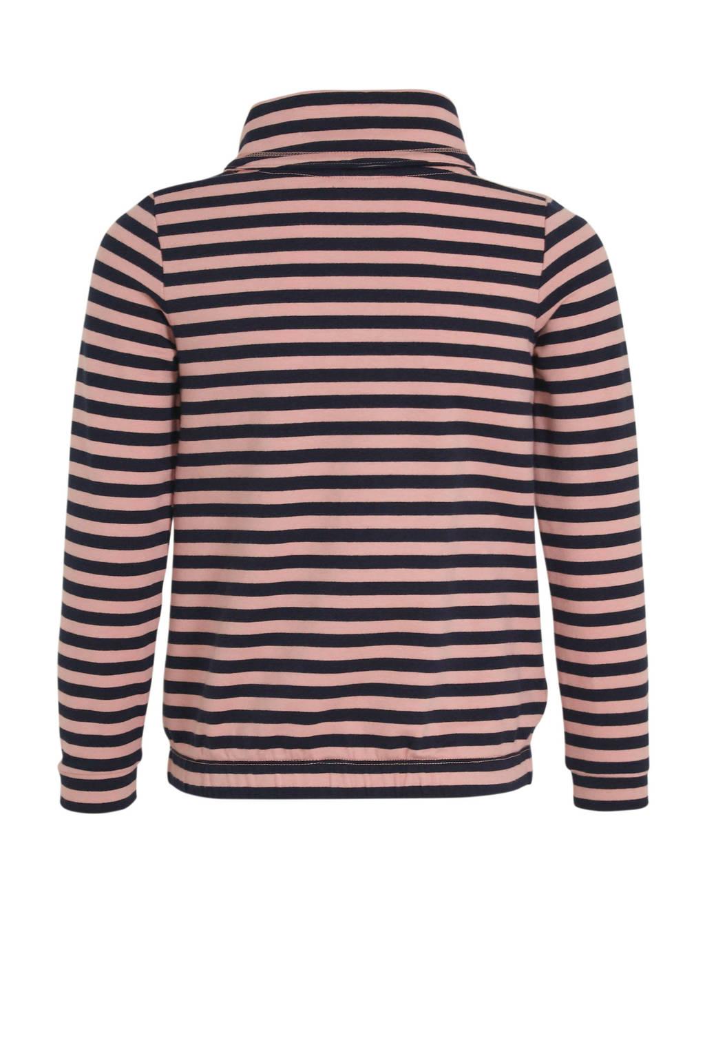 s.Oliver gestreepte sweater lichtroze/zwart, Lichtroze/zwart