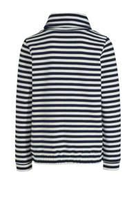 s.Oliver gestreepte sweater marine/wit/lichtroze, Marine/wit/lichtroze