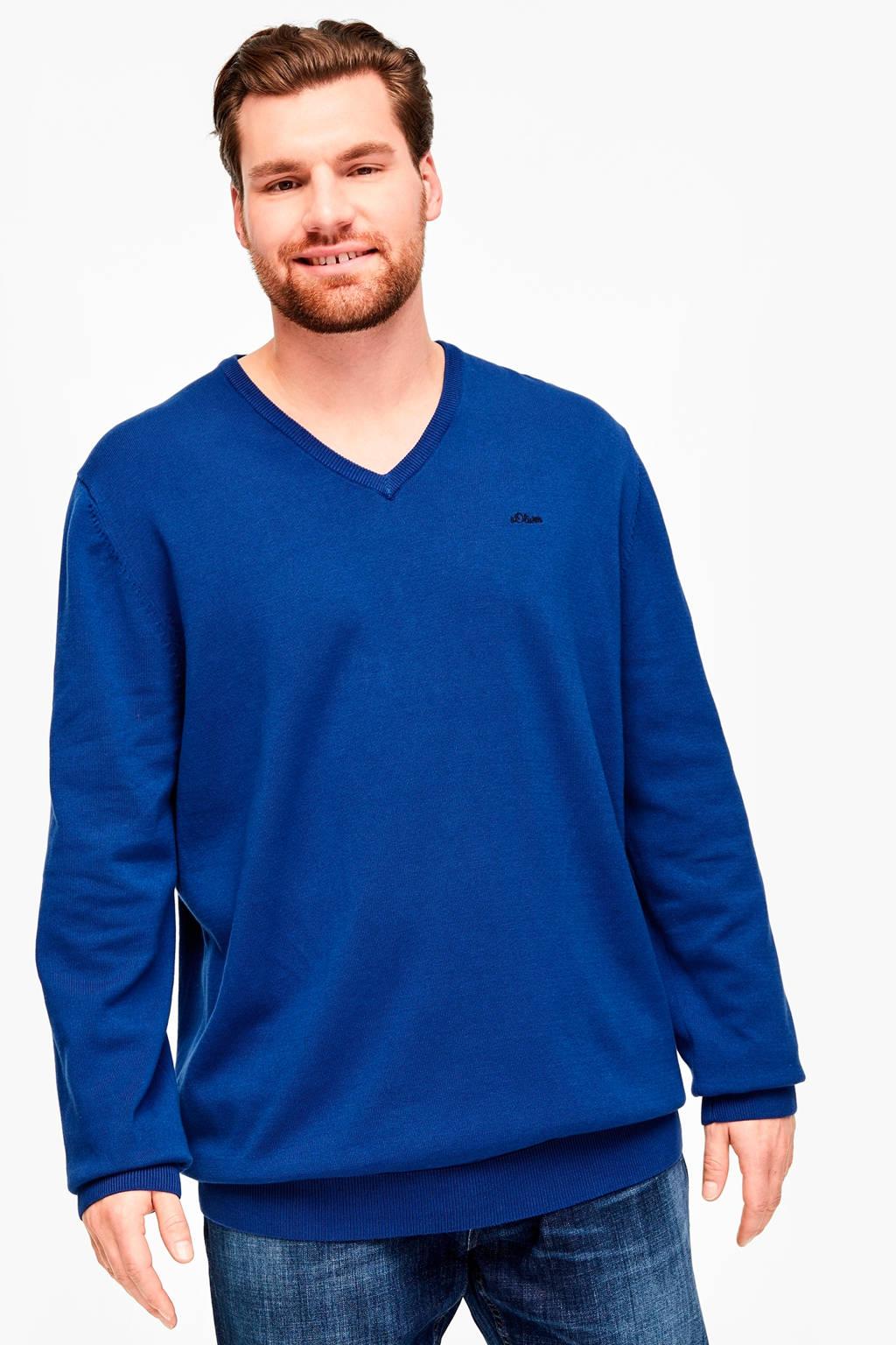 s.Oliver Big Size trui blauw Big size, Blauw