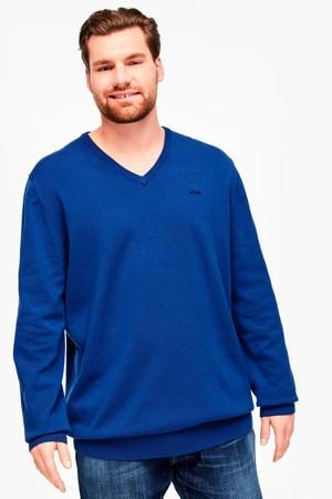 trui blauw Big size