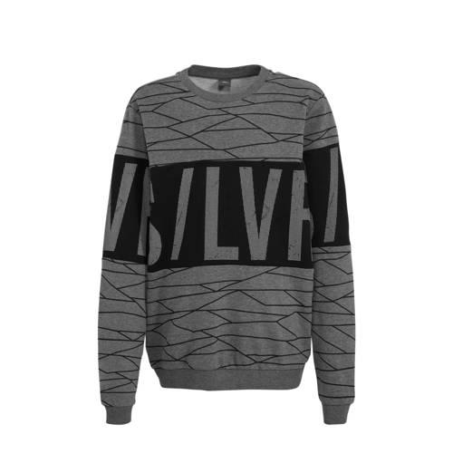 s.Oliver sweater grijs/zwart