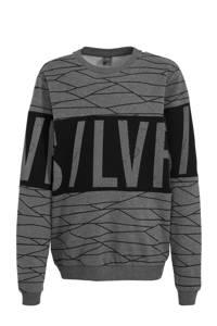 s.Oliver sweater grijs/zwart, Grijs/zwart