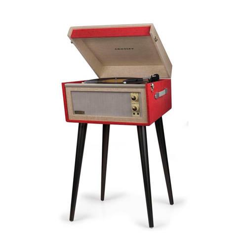 Crosley Bermuda CR6233A-RE retro platenspeler rood