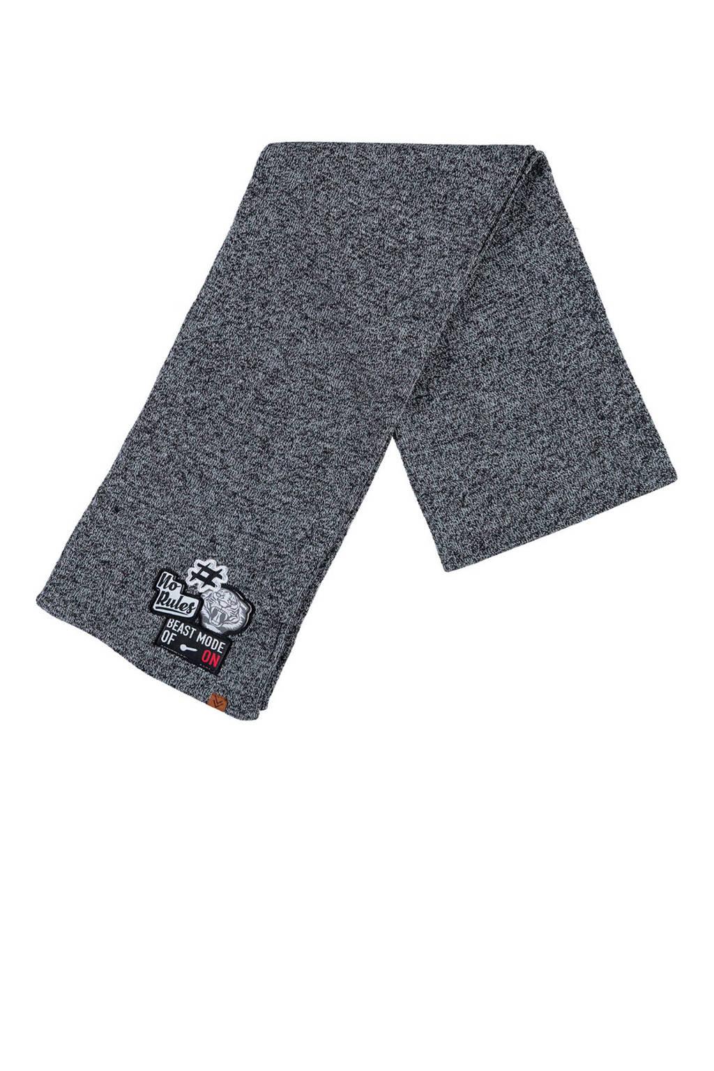 Sarlini sjaal grijs, Grijs