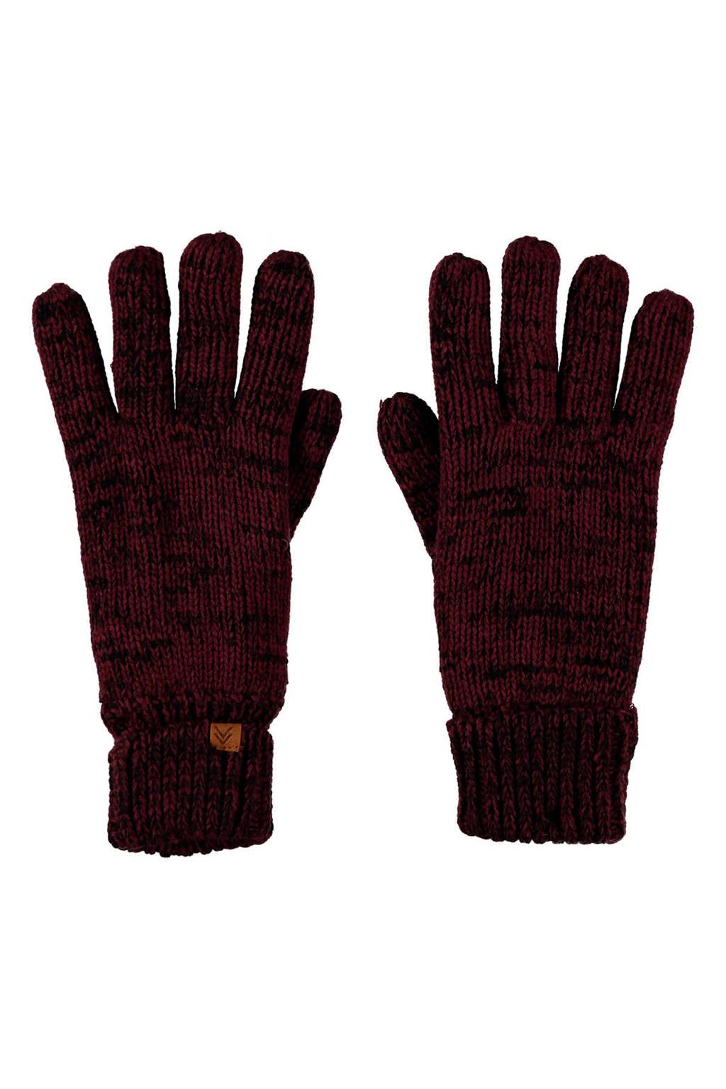 Sarlini handschoenen bordeauxrood, Bordeauxrood
