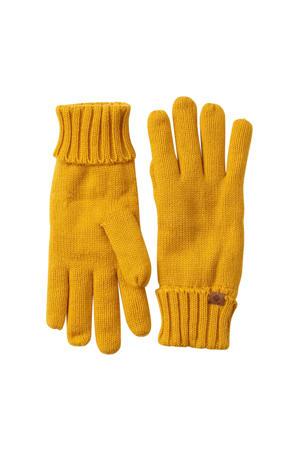 handschoenen oker