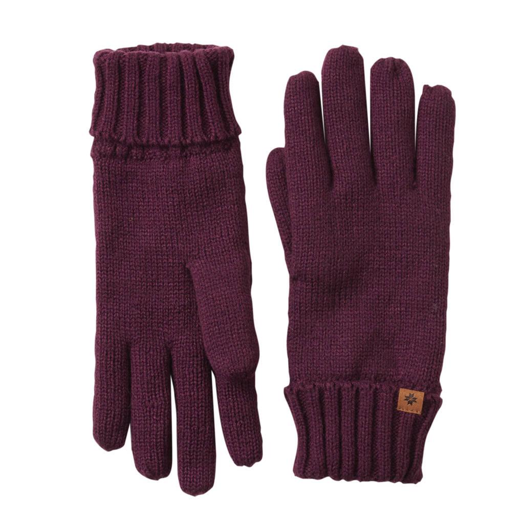 Sarlini handschoenen donkerrood, Donkerrood
