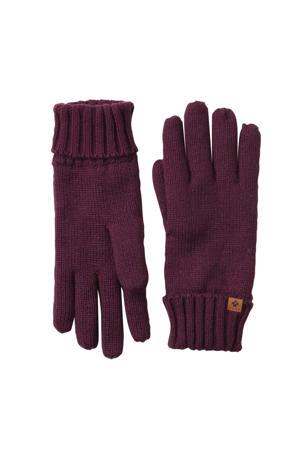 handschoenen donkerrood