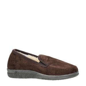 pantoffels bruin