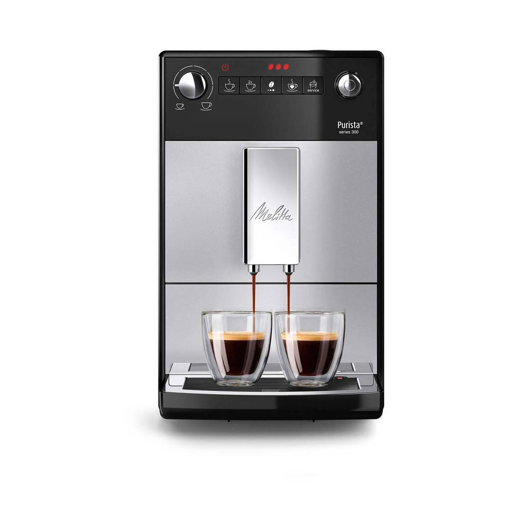 Melitta Purista F230-101 koffiemachine, Zilver