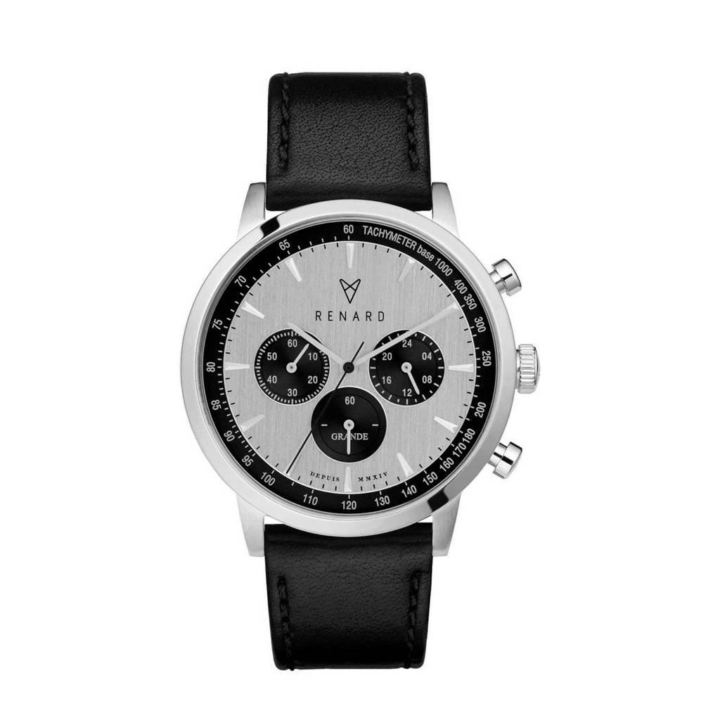 Renard chronograaf RC402SS13VBK zwart, Zwart