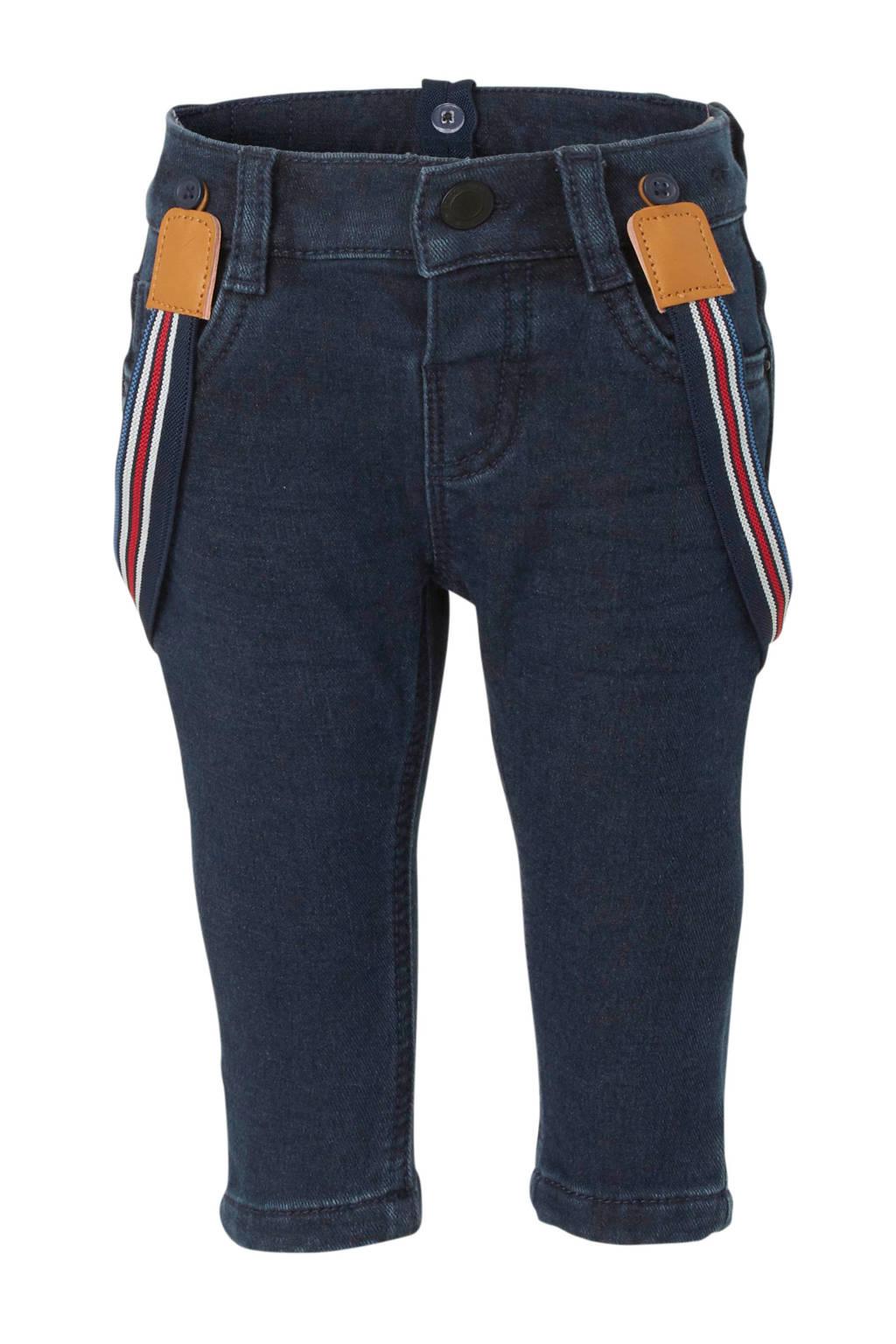 C&A Baby Club baby skinny jeans donkerblauw, Donkerblauw