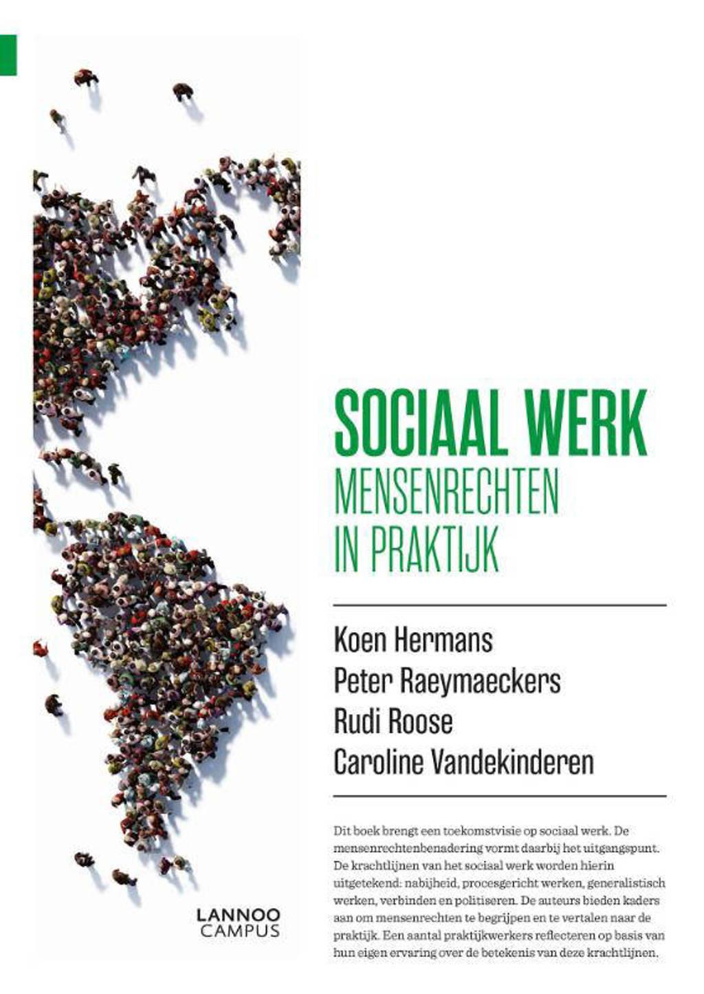 Sociaal werk - Koen Hermans, Peter Raeymaeckers, Rudi Roose, e.a.