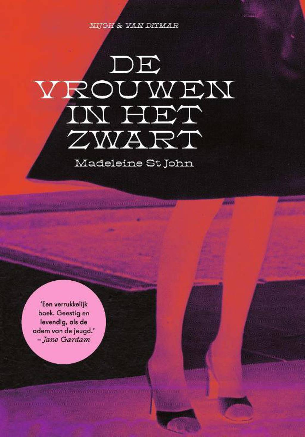 De vrouwen in het zwart - Madeleine St John
