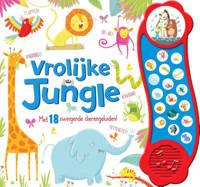 Vrolijke Jungle - geluidboek