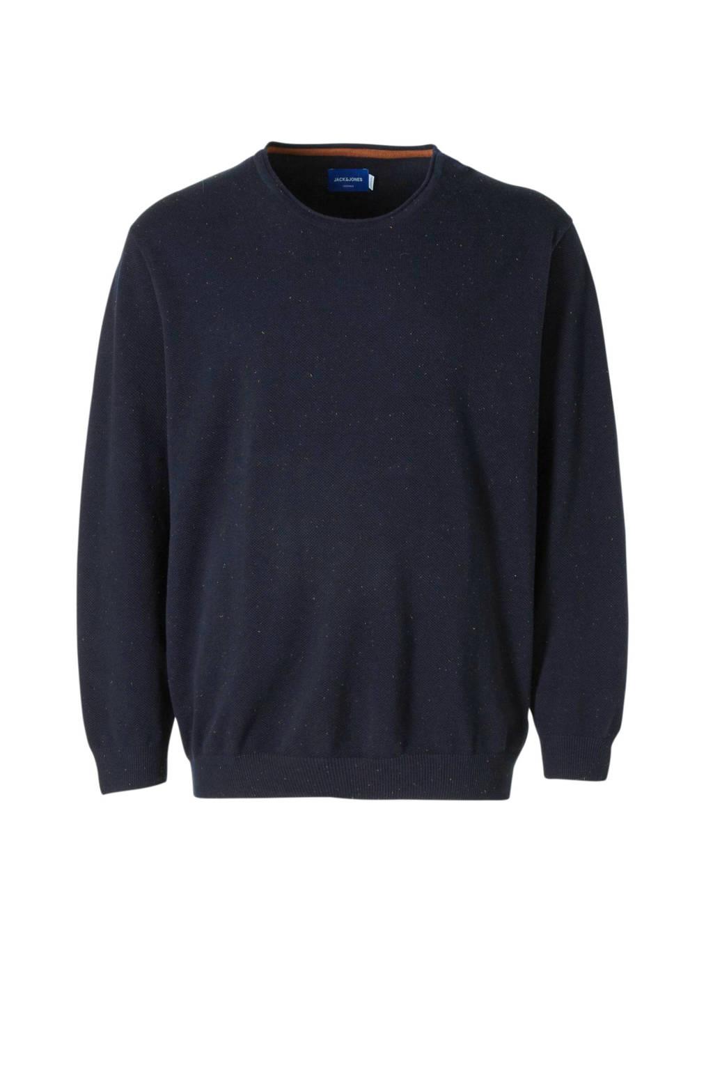 JACK & JONES PLUS SIZE trui donkerblauw, Donkerblauw