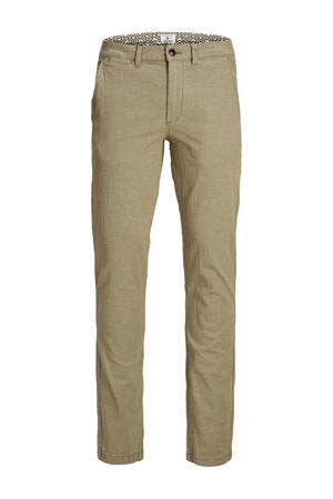 JEANS INTELLIGENCE slim fit chino camel