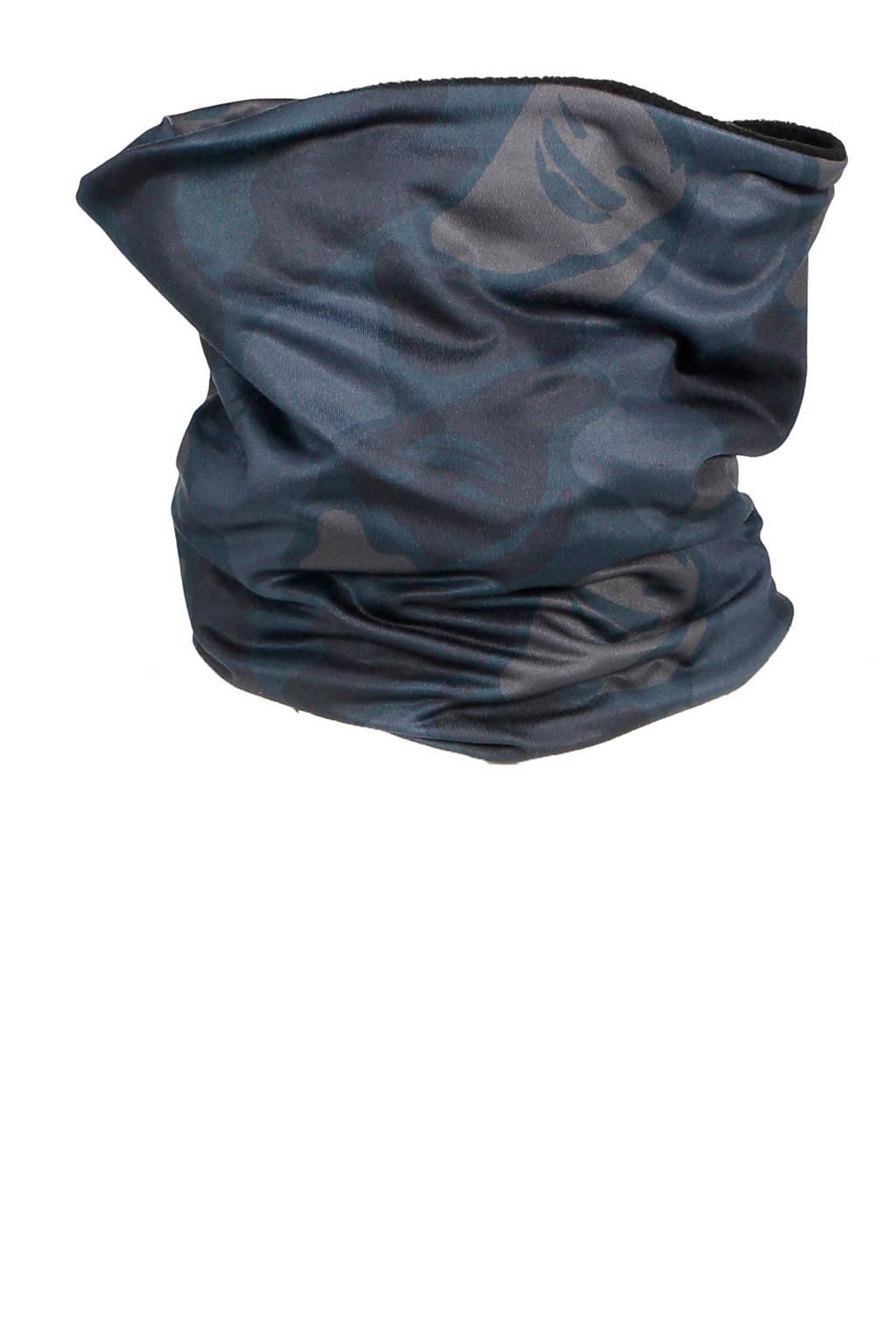 SuperRebel softshell skicoll camouflage, Blauw/grijs camouflage