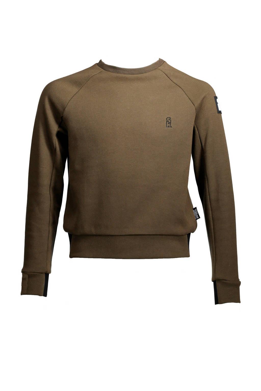 SuperRebel   sweater groen, Groen