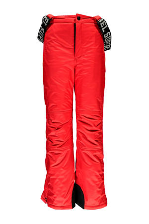 skibroek neon rood