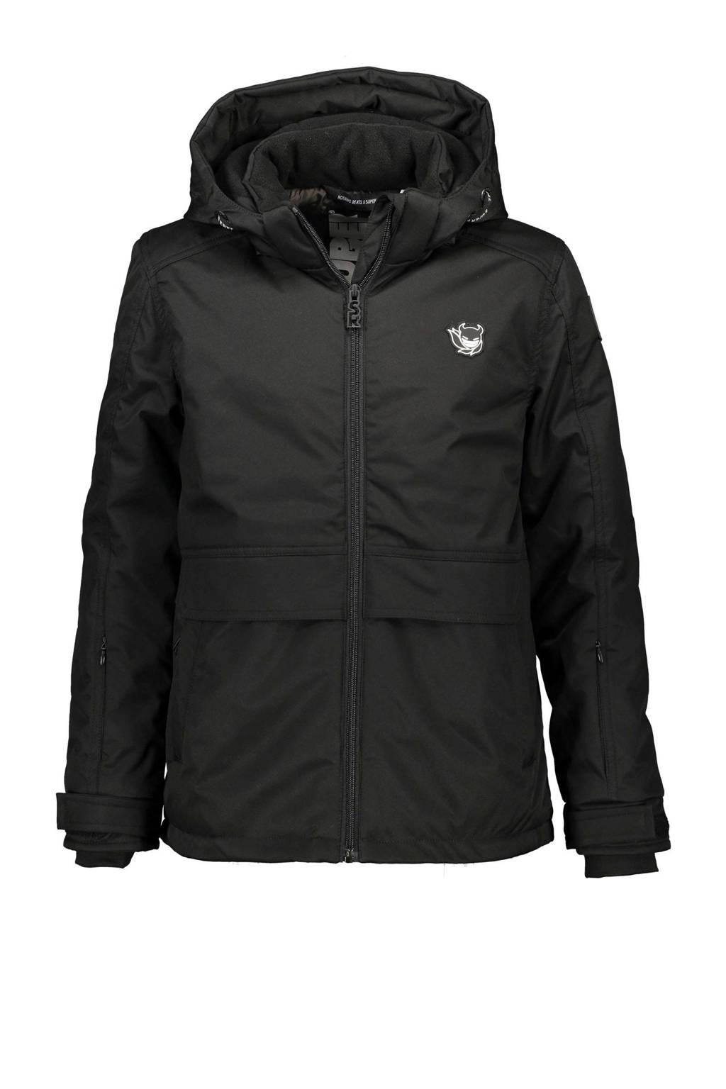 SuperRebel ski-jack zwart, Zwart