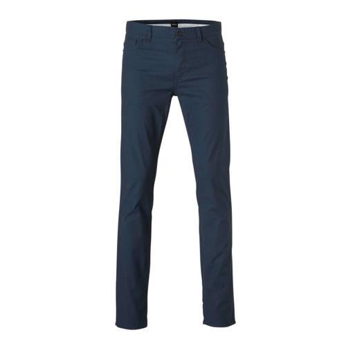 BOSS Menswear regular fit broek met all over print