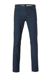 BOSS Menswear regular fit broek met all over print 402-dark blue, 402-Dark Blue