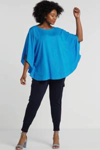 Mat Fashion top blauw, Blauw