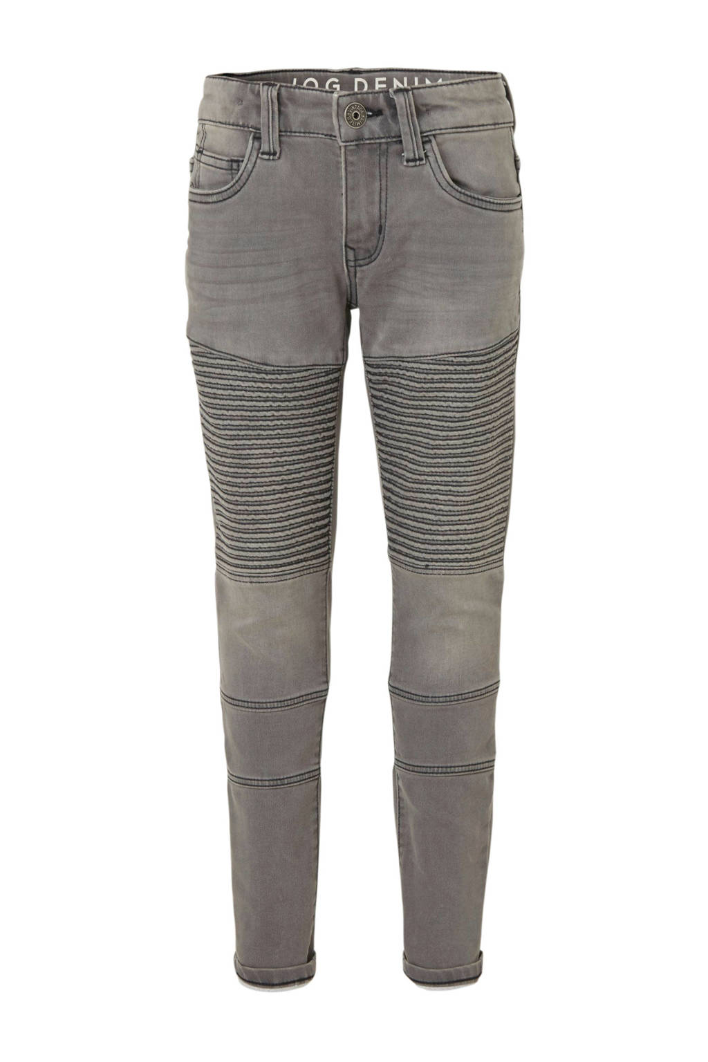 C&A Here & There slim fit jeans grijs, Grijs