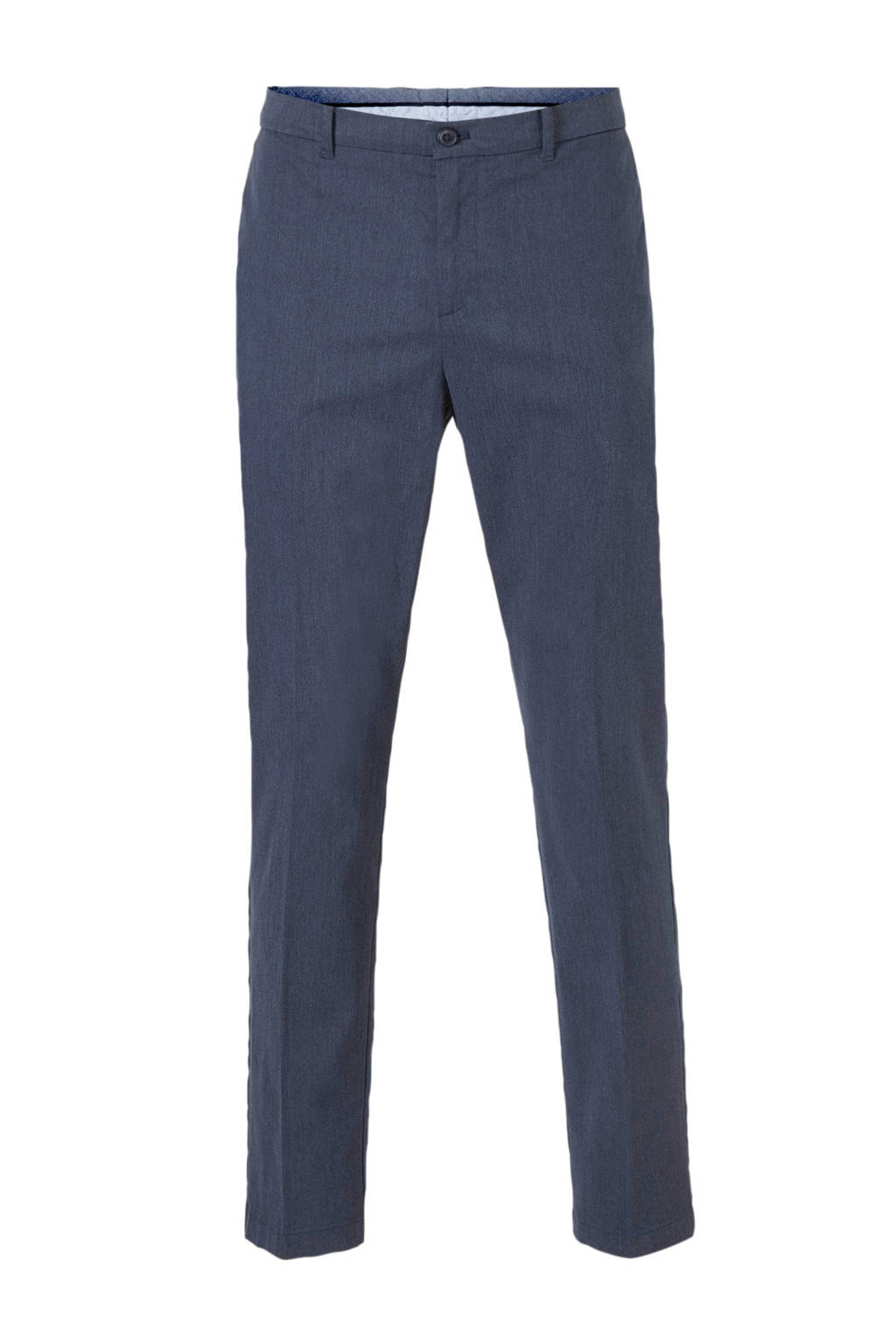C&A Angelo Litrico slim fit pantalon donkerblauw, Donkerblauw