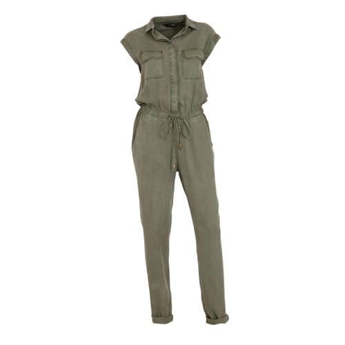 anytime jumpsuit van viscose-tencel in used look g