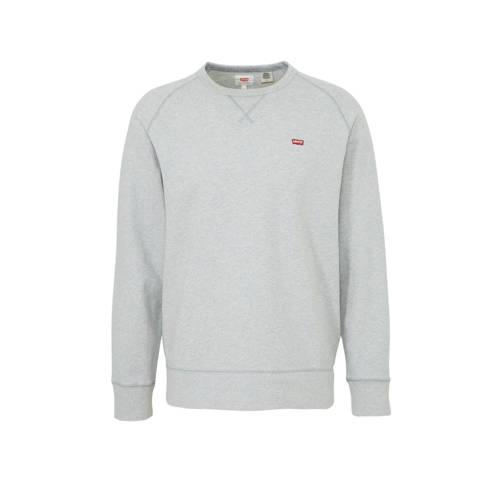 Levi's gem??leerde sweater grijs melange