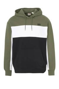 Levi's hoodie relaxed fit olijfgroen/marine, Olijfgroen/marine
