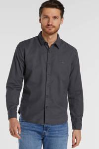 Levi's slim fit overhemd antraciet, Antraciet