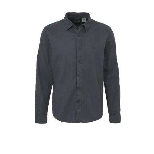 Levi's slim fit overhemd antraciet