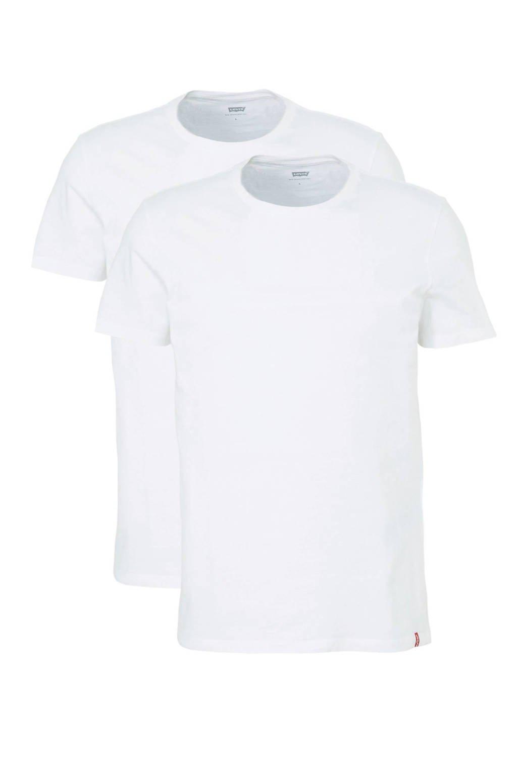 Levi's T-shirt - set van 2, Wit