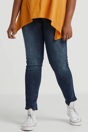 super comfort basic skinny Plus size jeans met zijnaadbies