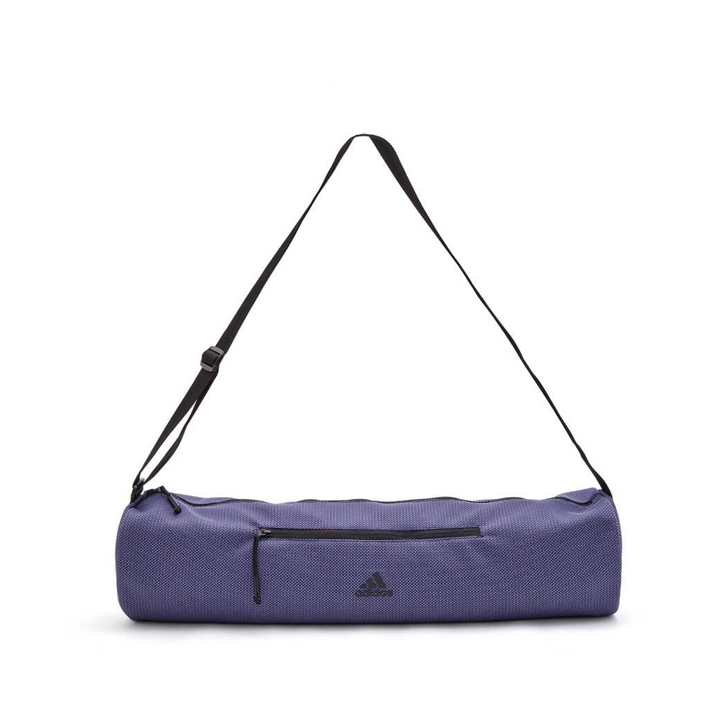 adidas  yogamat tas blauw/paars, Blauw/paars