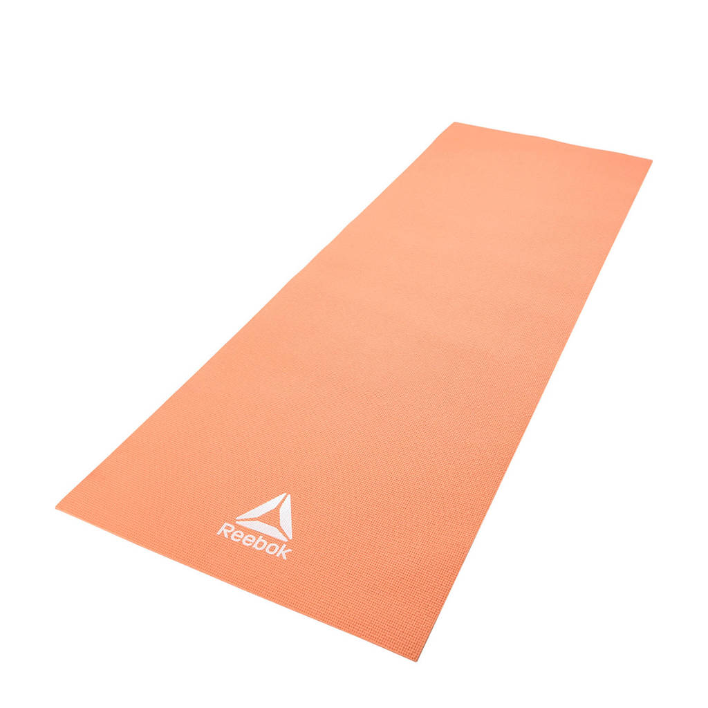 Reebok  yogamat / fitnessmat 4 mm - oranje, Oranje/Desert Dust