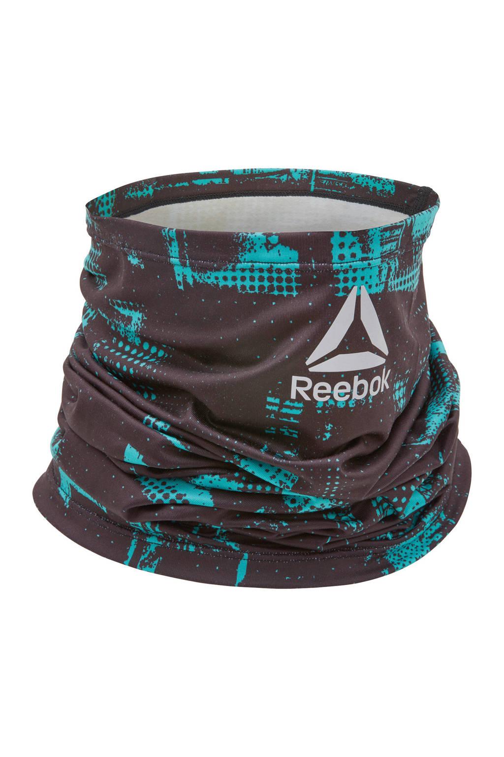Reebok   nekwarmer geocast/zwart, Zwart/turquoise