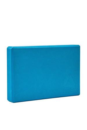 yogablok - pilatesblok - blauw