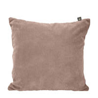 OVERSEAS sierkussenhoes Rib  (45x45 cm), Rose Dust