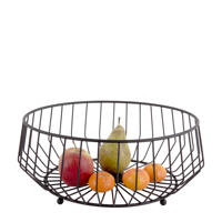 pt, fruitschaal Kink, Zwart