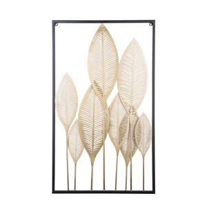 wanddecoratie Leaves  ( cm)