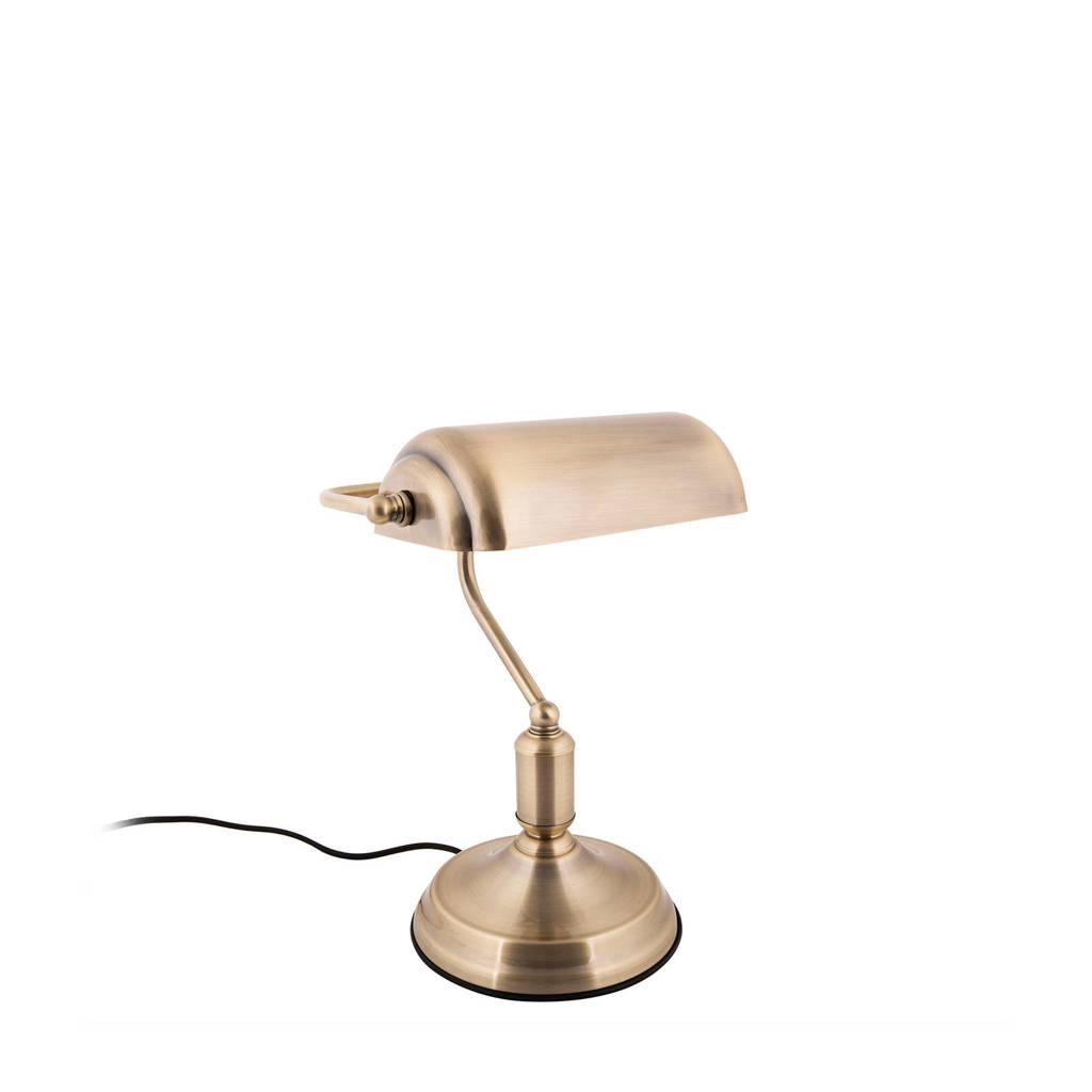 Leitmotiv tafellamp Bank, Goud