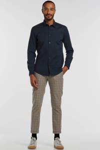 ESPRIT Men Casual slim fit overhemd donkerblauw, Donkerblauw
