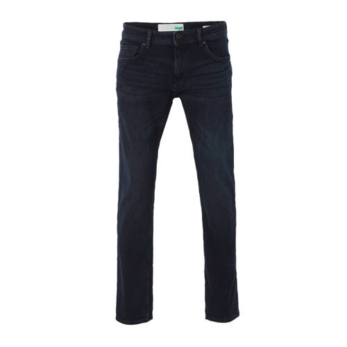 ESPRIT Men Casual straight fit jeans donkerblauw