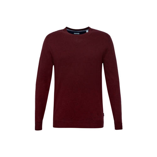 ESPRIT Men Casual trui donkerrood